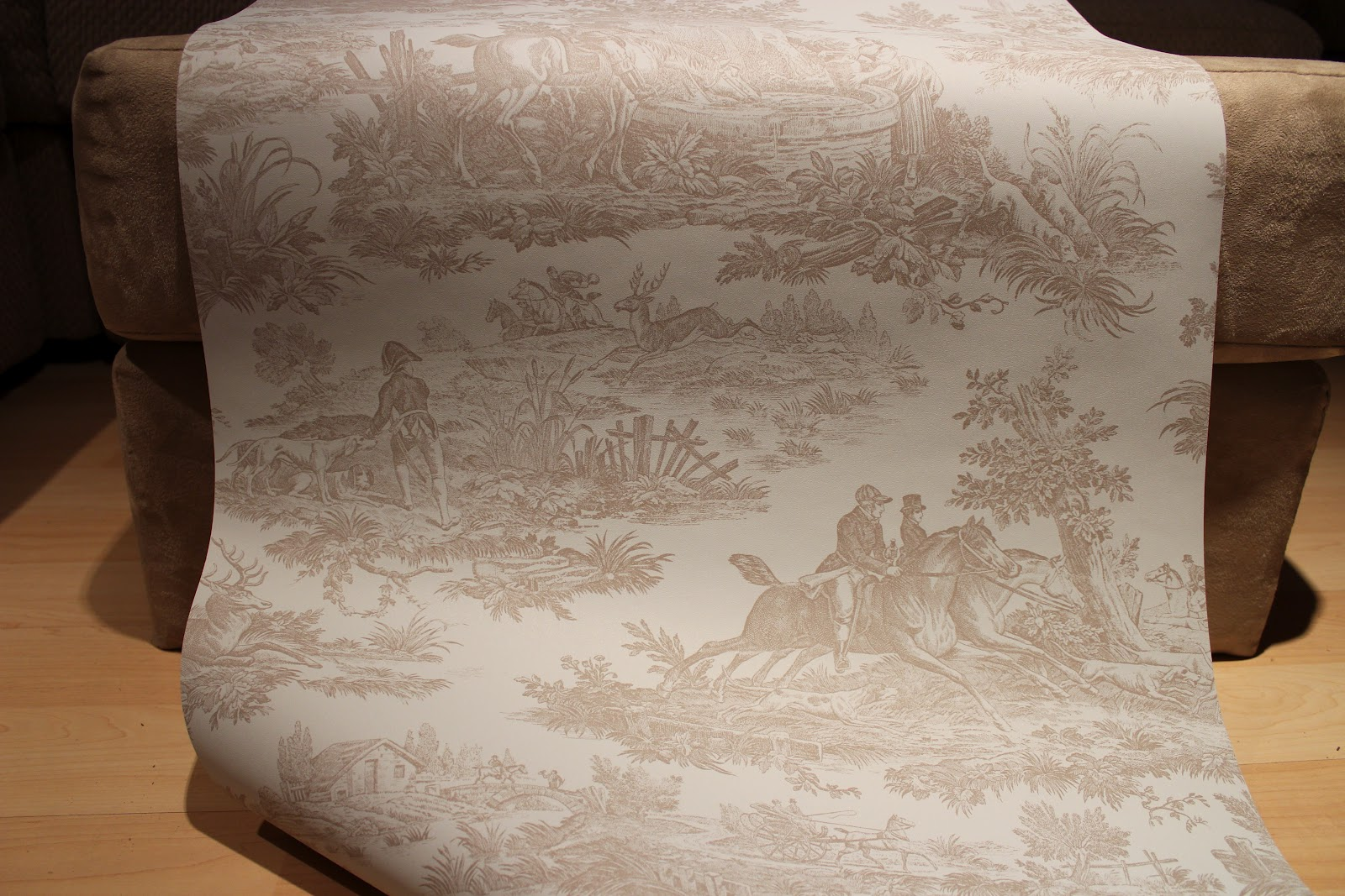 french toile wallpaper the reason behind the toile pattern it 1600x1067