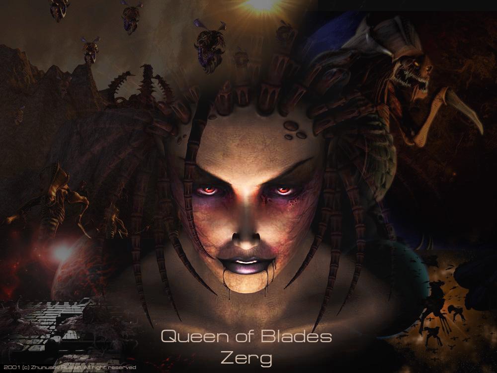 Wallpaper Queen of Blades 1000x750