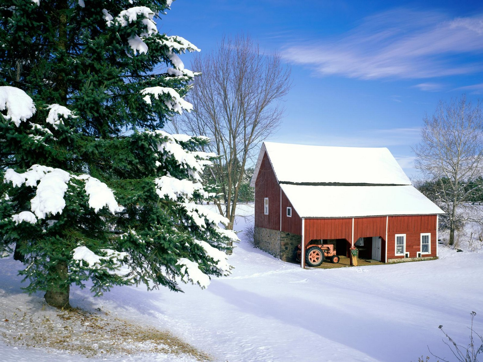 Image Winter cabin wallpapers and stock photos 1600x1200