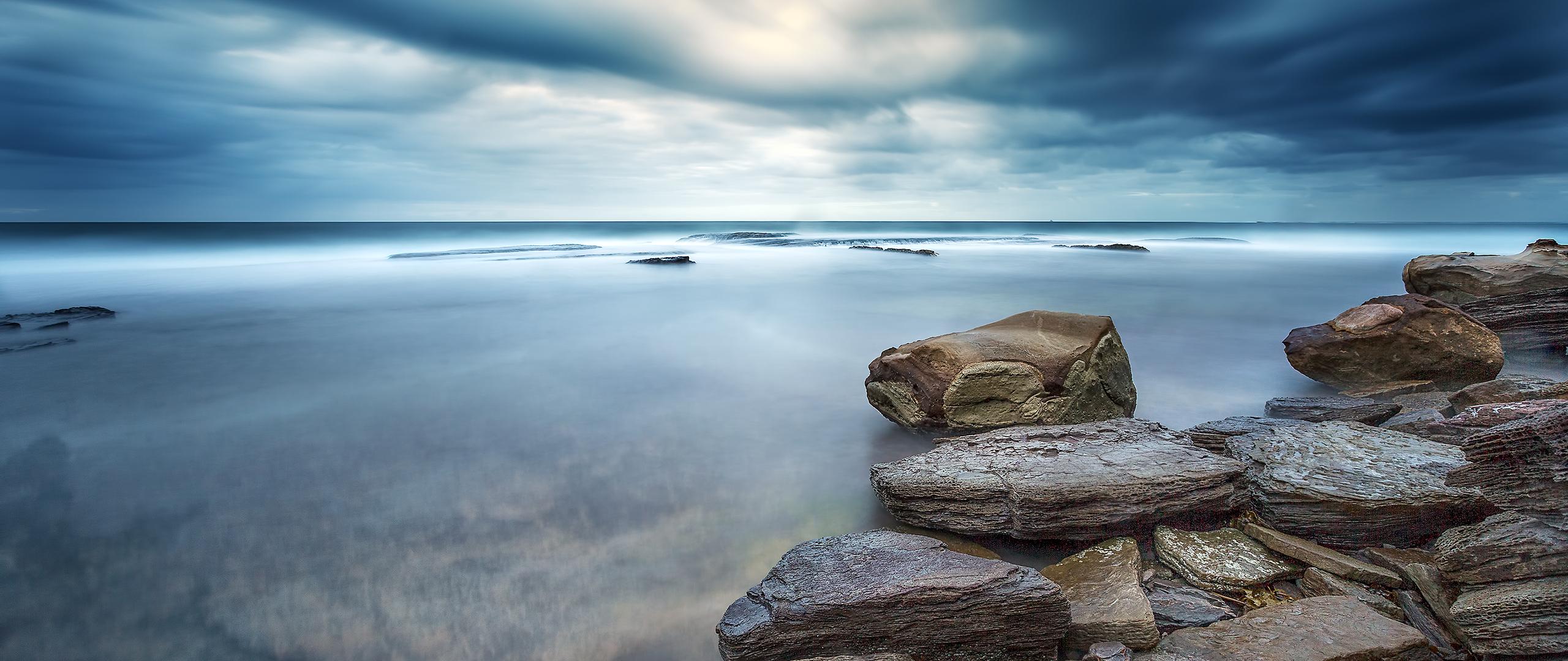 горизонт камни вода  № 2556044 бесплатно