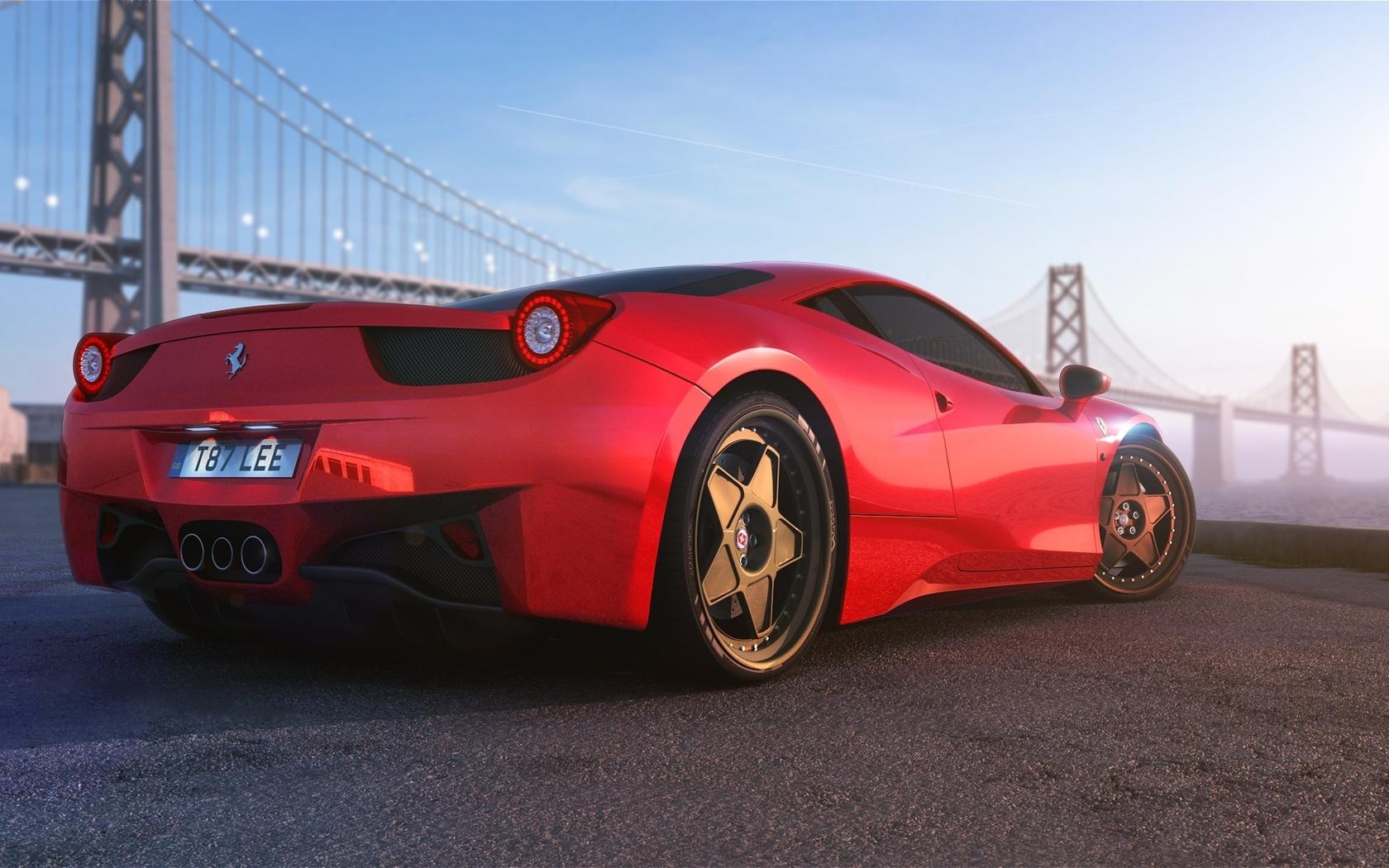 Ferrari 458 Italia wallpaper 30323 1680x1050