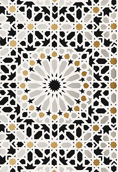 Mica by Schumacher Adore the Moroccan tile inspired print 395x575