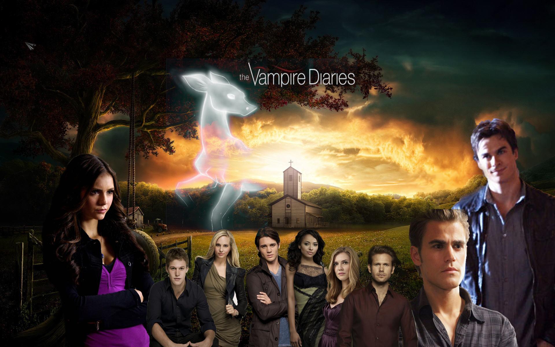 vampire diaries characters - HD1920×1200