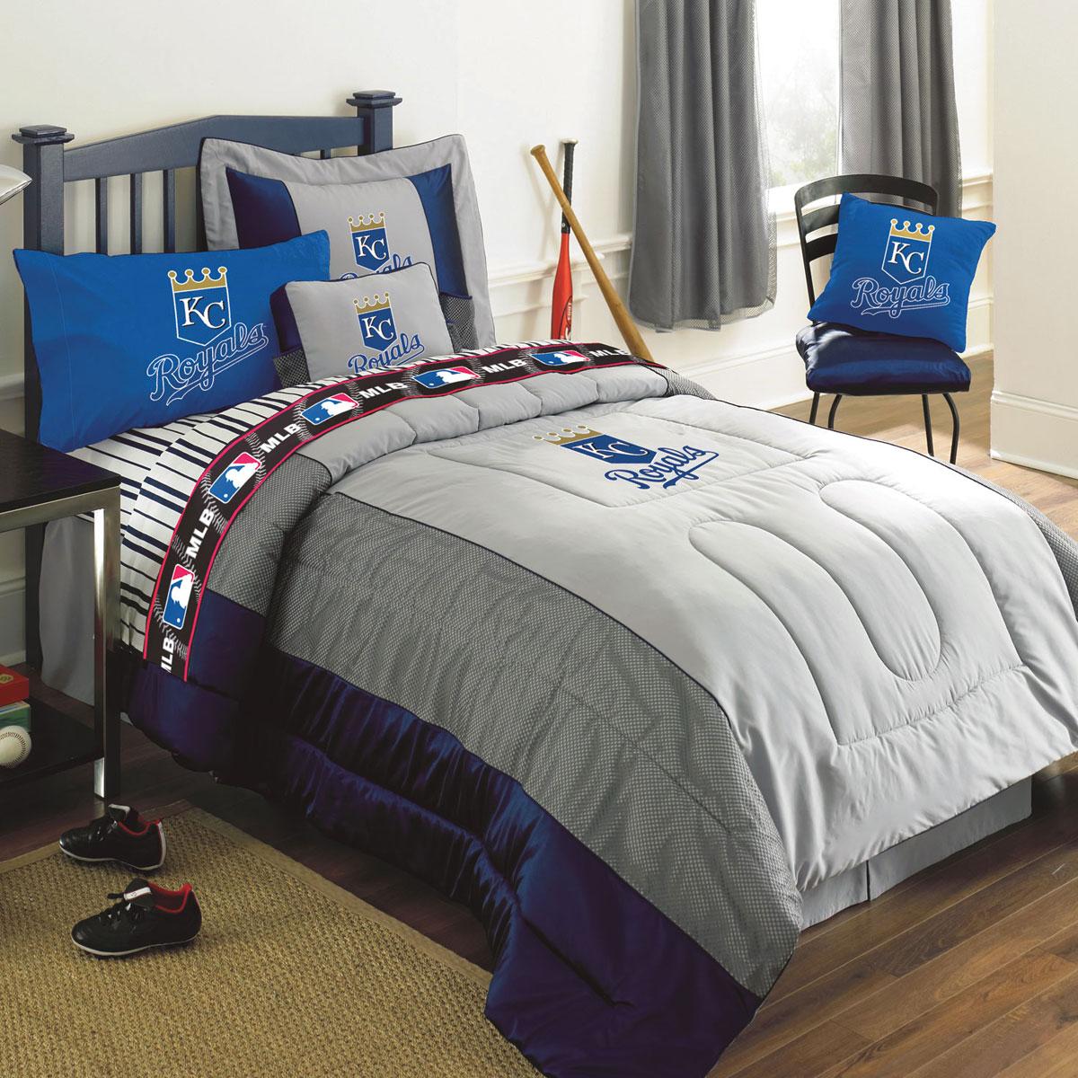 Kansas City Royals MLB Authentic Team Jersey Bedding Full Size 1200x1200