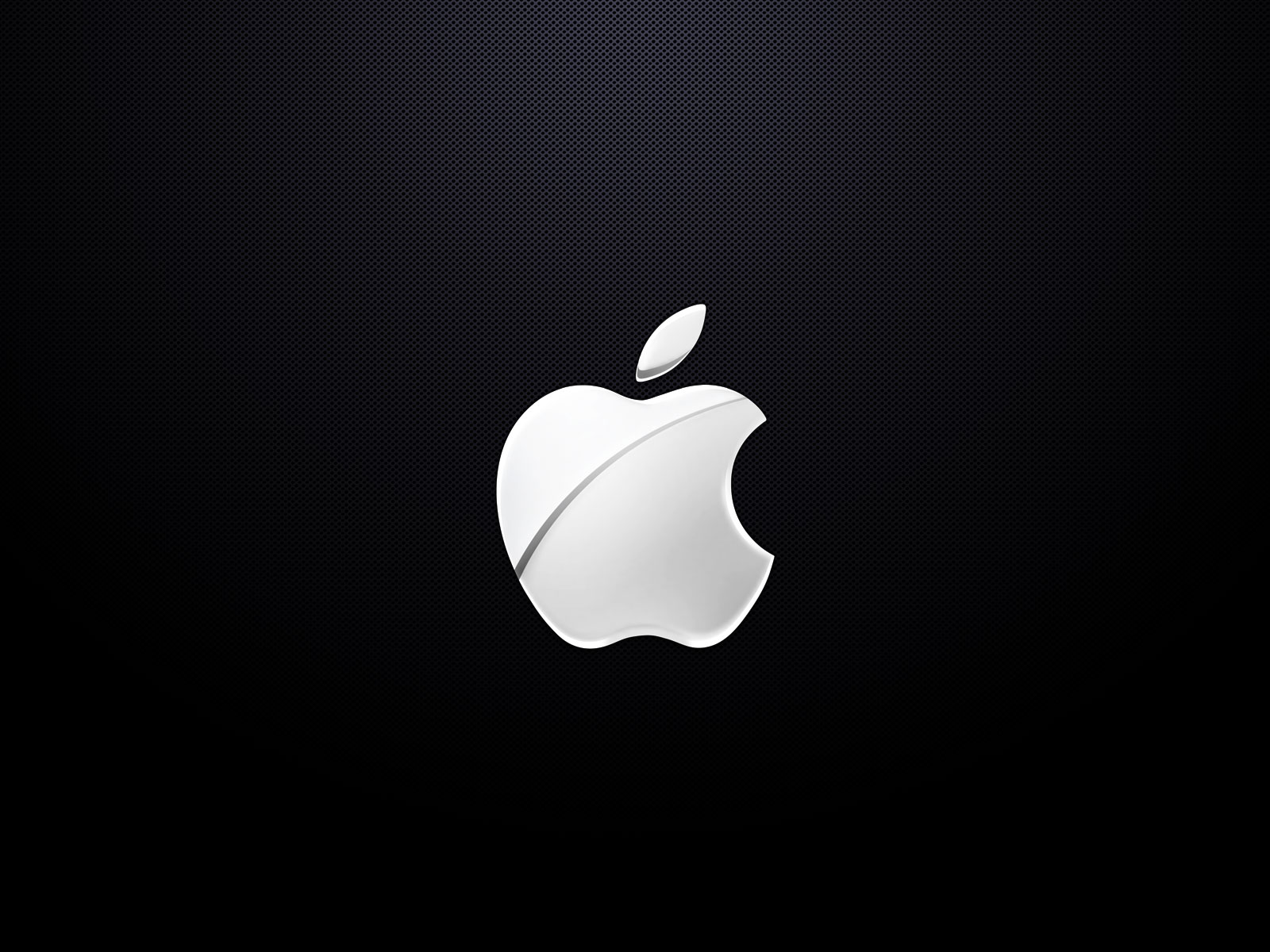 white apple logo wallpaper 1600x1200
