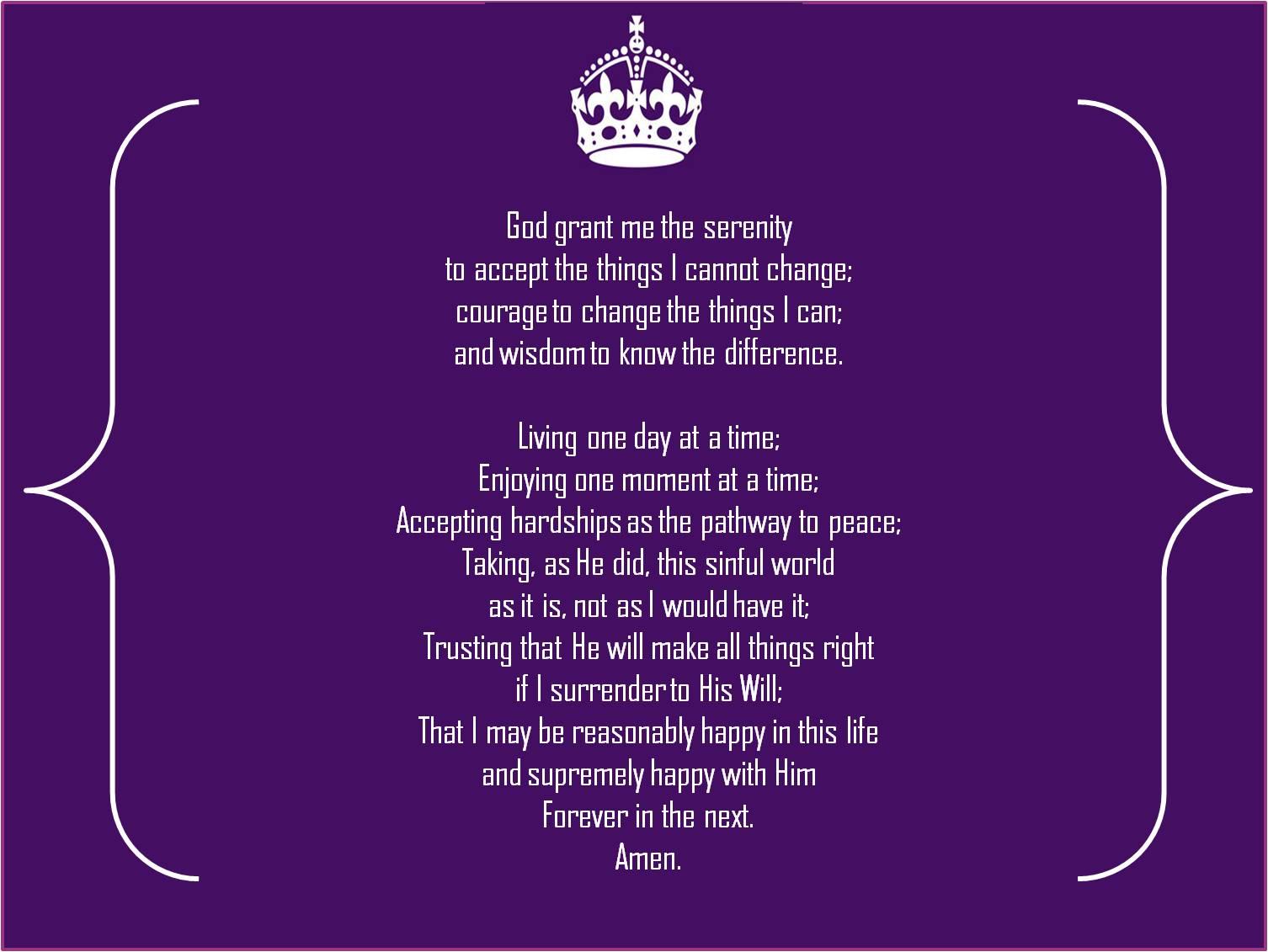 Free Download Serenity Prayer 1506x1131 For Your Desktop