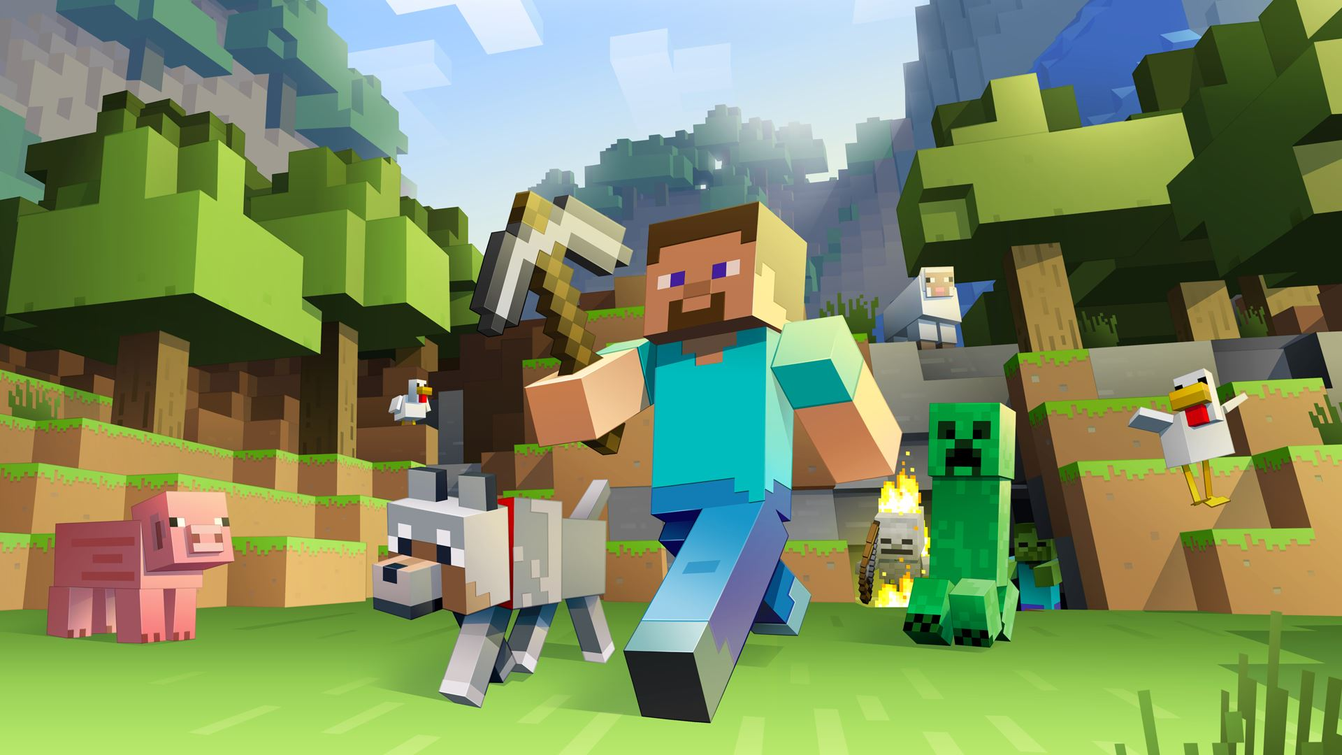 Can You Dig It FACT meets Minecraft composer C418 1920x1080