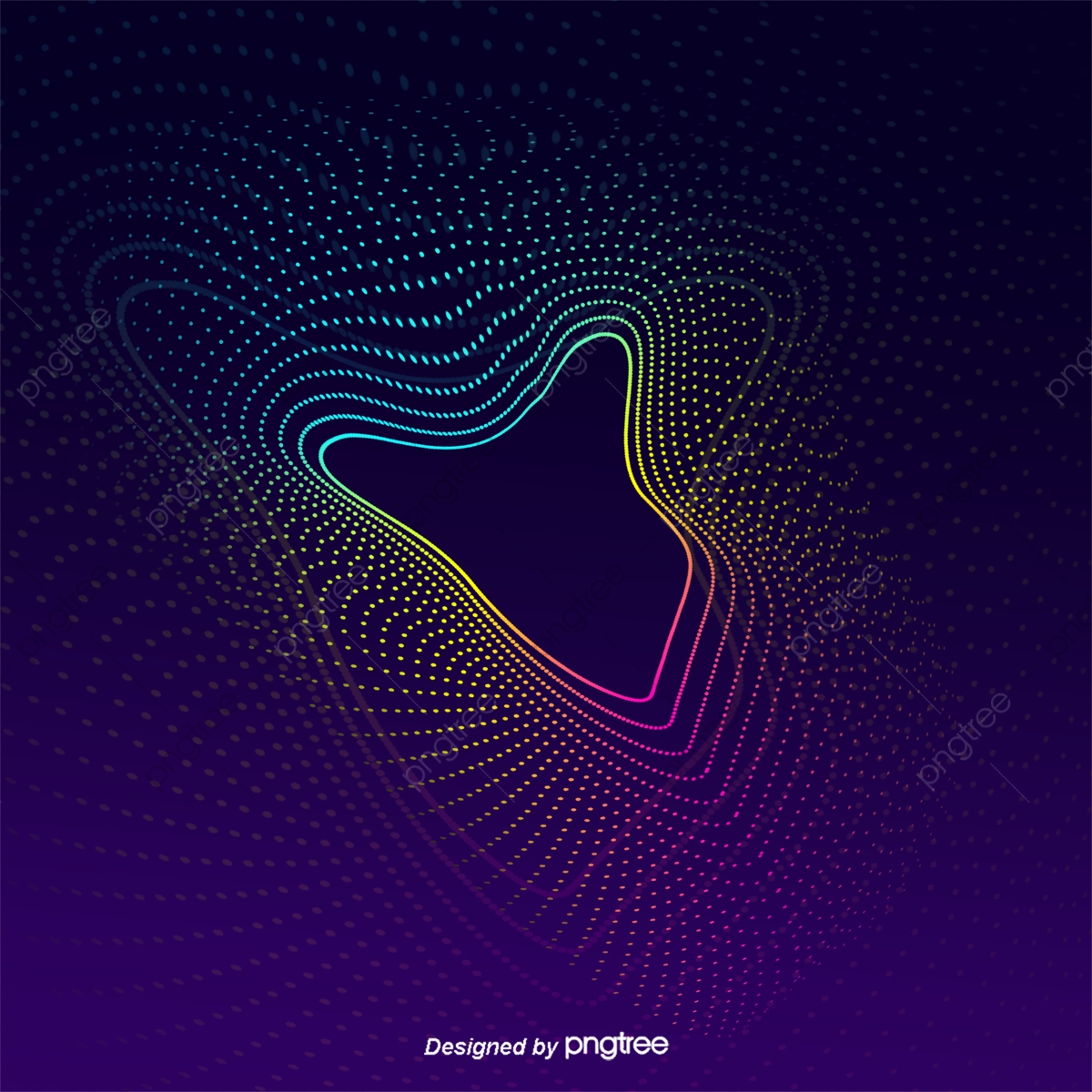 Splendid Curve Particle Electro Acoustic Line Background Abstract 1200x1200