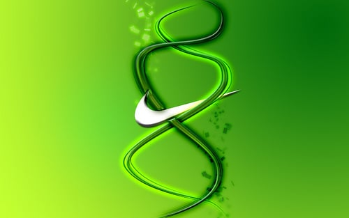Nike Logo Green Wallpaper Nike evaluating environmental 500x313