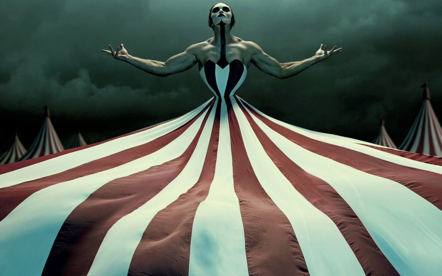 American Horror Story Season 4 Freak Show Film Poster 1680x1050