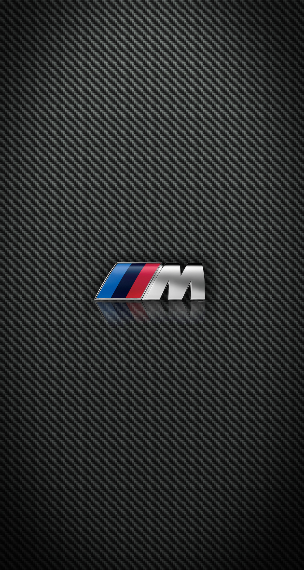 Carbon Fiber BMW and M Power iPhone wallpapers for iPhone 6 Plus 1000x1873