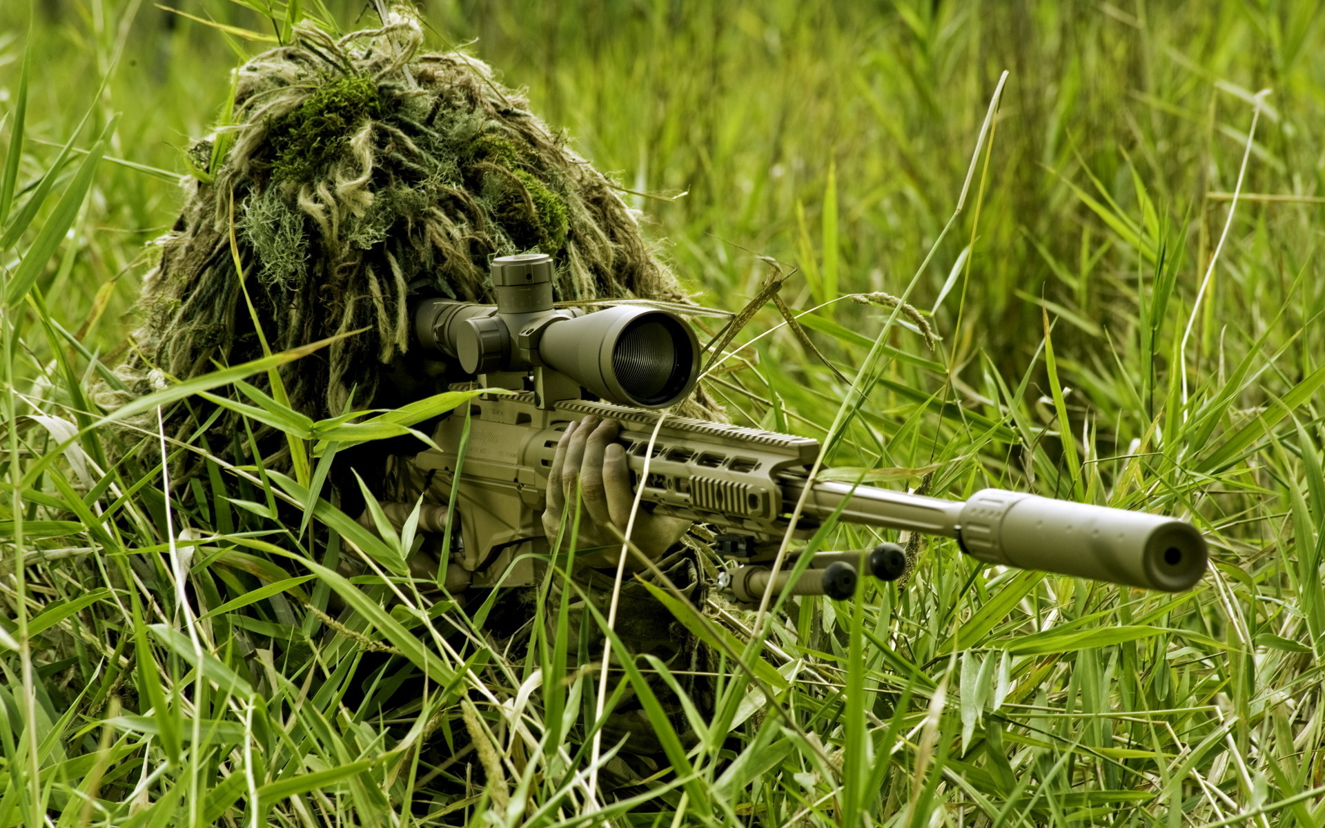 Sniper at work Computer Wallpapers Desktop Backgrounds 1920x1200 1920x1200