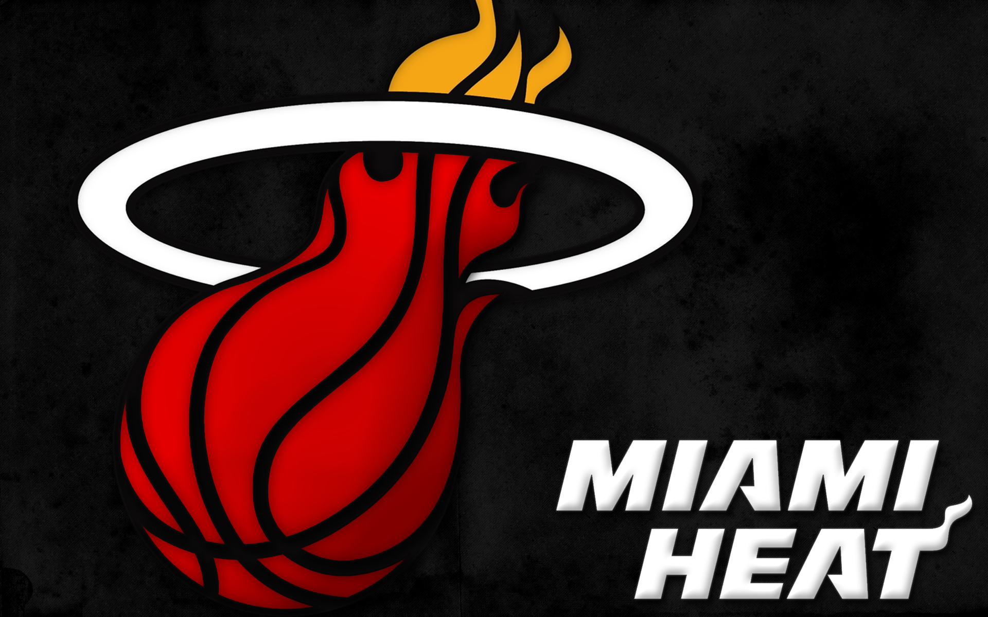 Miami heat wallpapers for desktop wallpapersafari miami heat logo wallpaper for desktop voltagebd Image collections