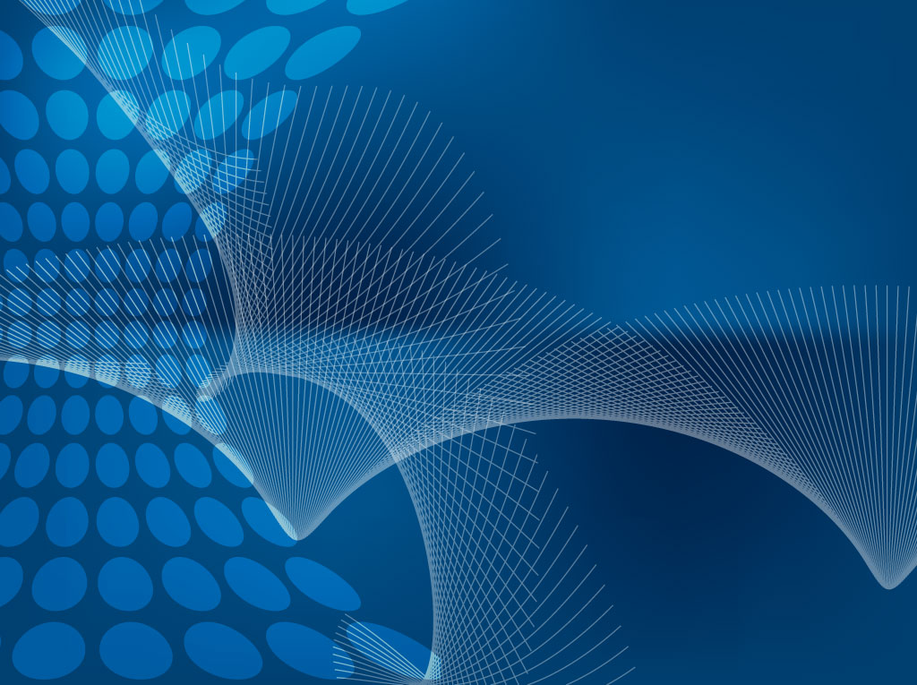 Blue Abstract Fan Background 1024x765