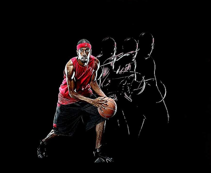 43 cool basketball player wallpapers on wallpapersafari - Cool basketball wallpapers hd ...