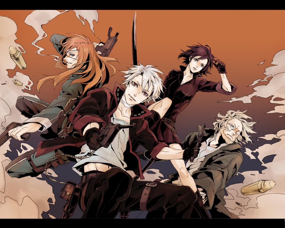 Tags Anime Takamura Pixiv256508 DOGS Bullets Carnage Badou 1000x800