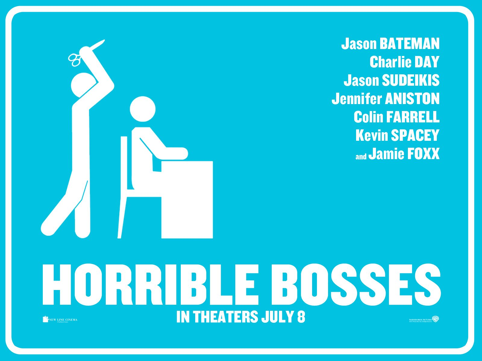 funny poster horrible bosses film movie poster celebs comedy funny 1600x1200