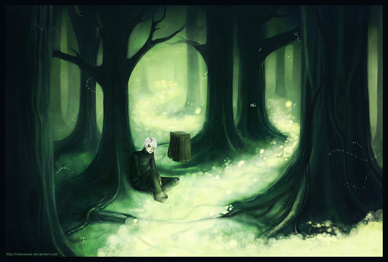 So Mushishi is one of my favorite animes of all time and I was 1332x900