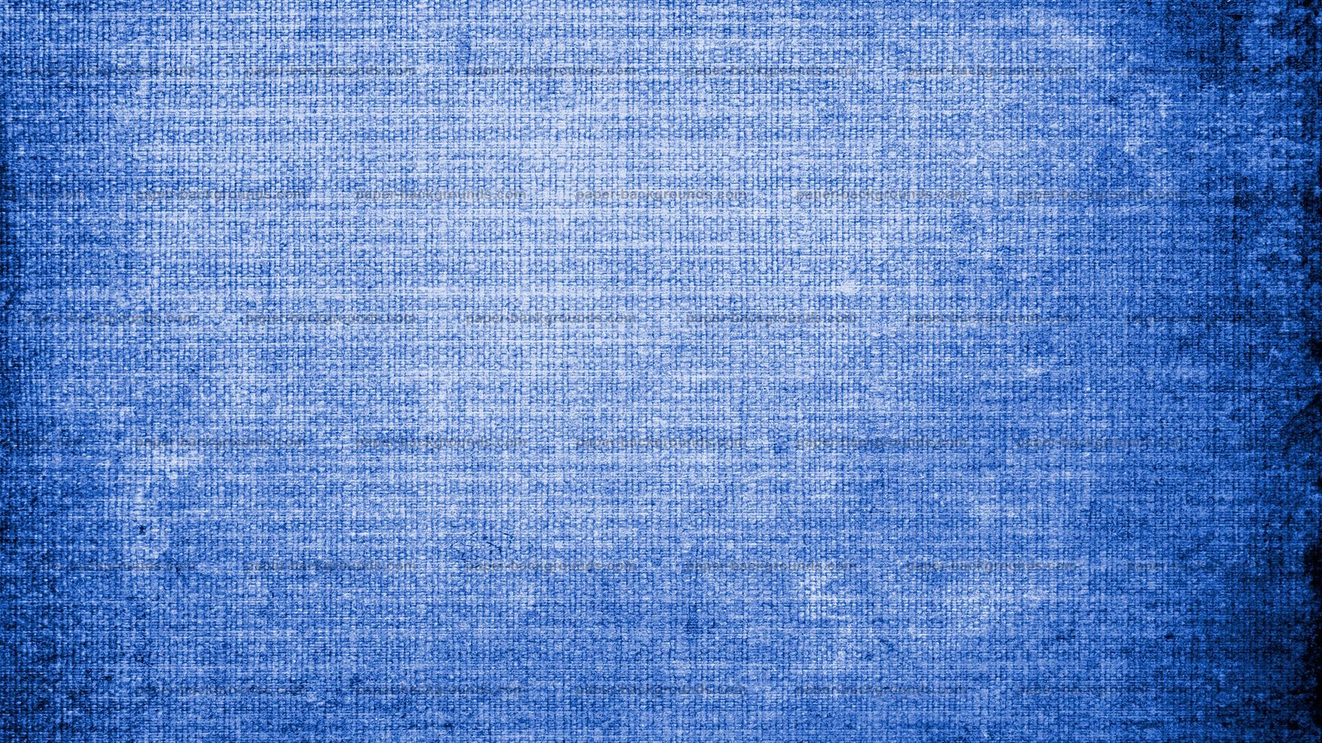Vintage Blue Canvas Texture Background HD 1920 x 1080p 1920x1080