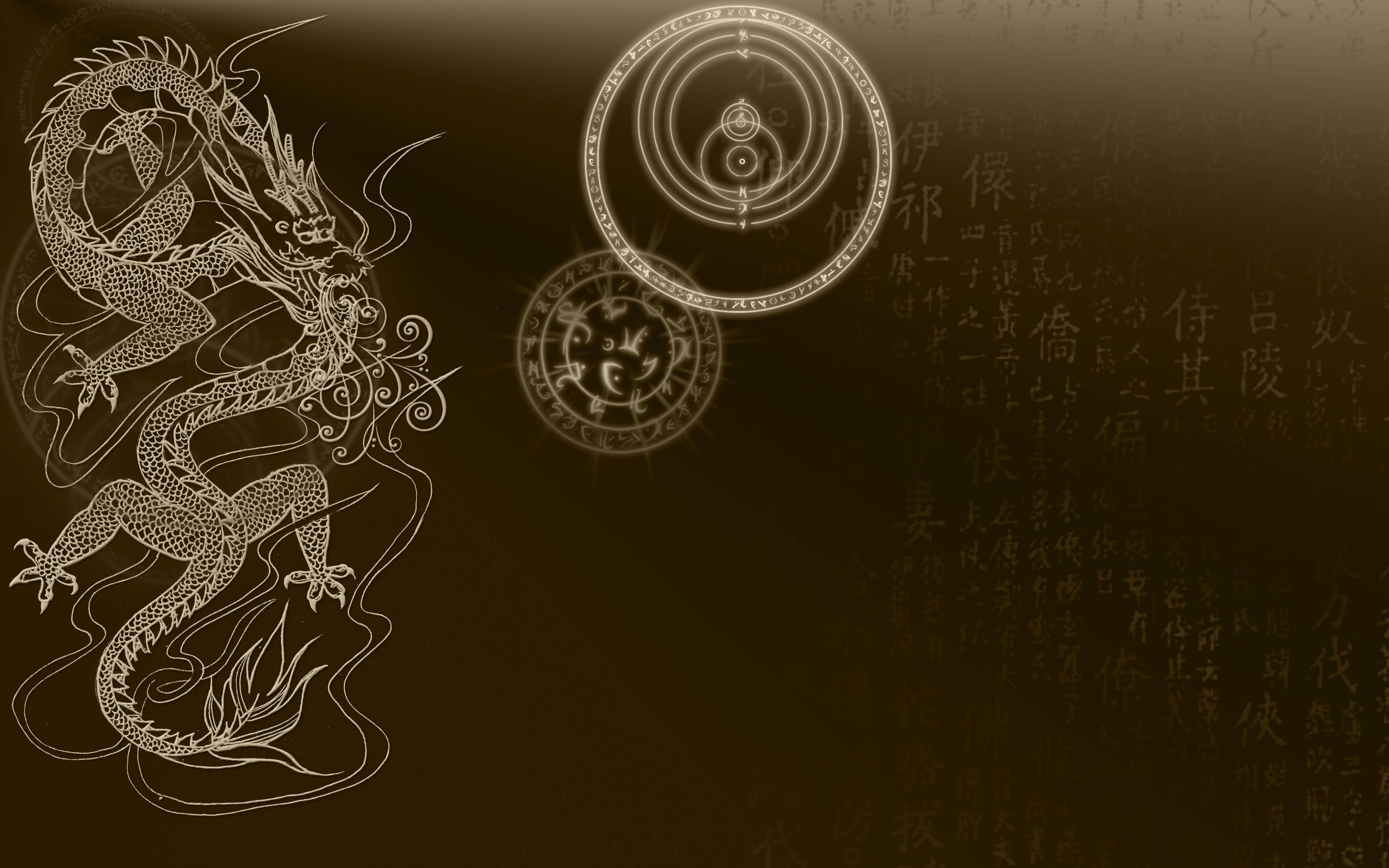 Chinese Dragon Wallpapers 3360x2100