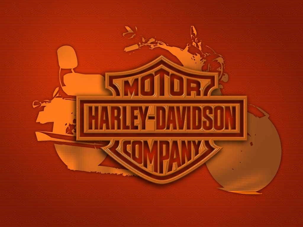 harley davidson logo wallpaper wallpapersafari