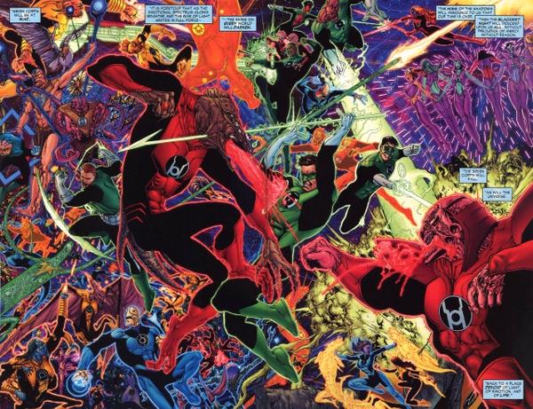 green lantern dc comics red lantern corps Wallpaper 600x461