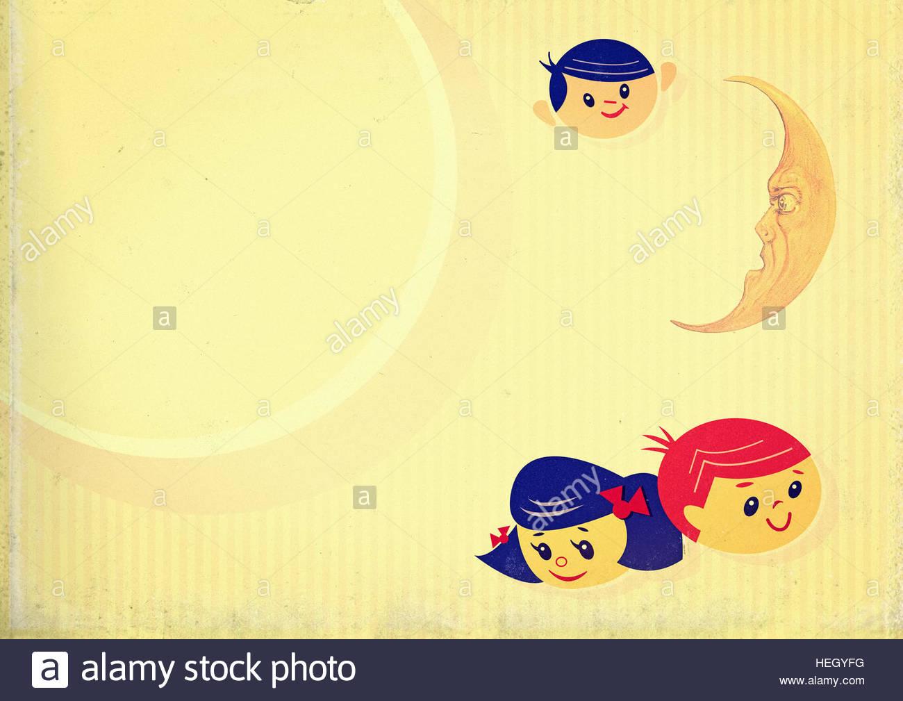 Nursery retro vintage children kindergarten preschool infants 1300x1009