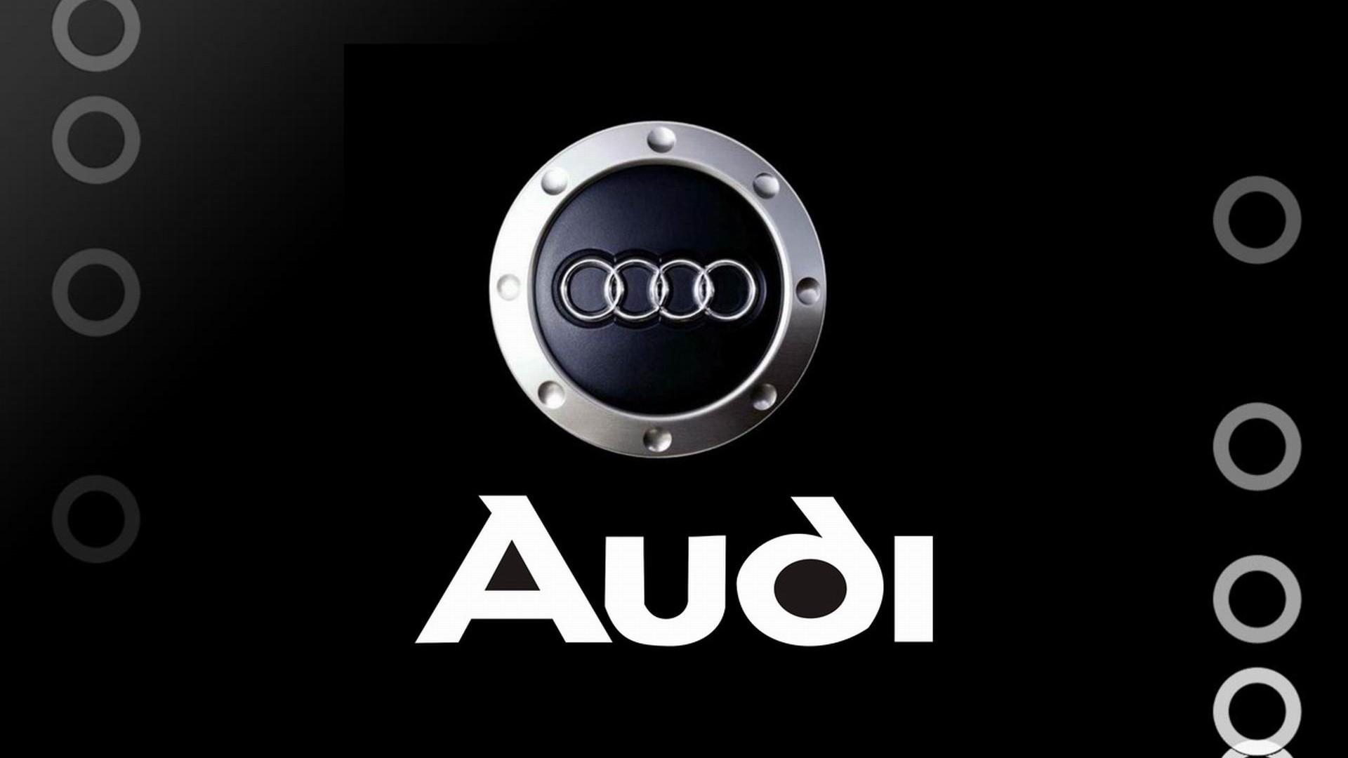 Audi Brand Logo Design Background HD Wallpaper 961 Wallpaper 1920x1080