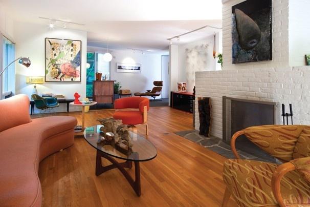 Atomic ranch wallpaper wallpapersafari - Atomic ranch midcentury interiors ...