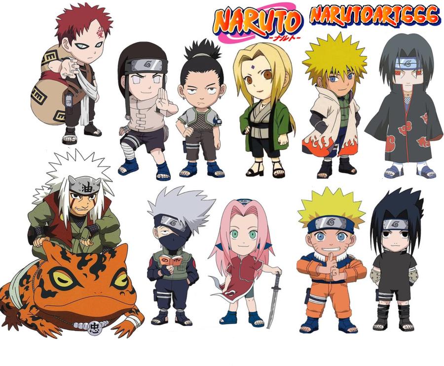 More Artists Like Naruto shippuden chibi wallpaper by NarutoArt666 900x741