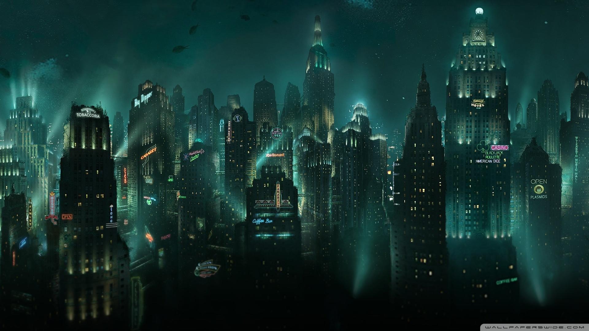 BioShock Rapture 4K HD Desktop Wallpaper for 4K Ultra HD TV 1920x1080