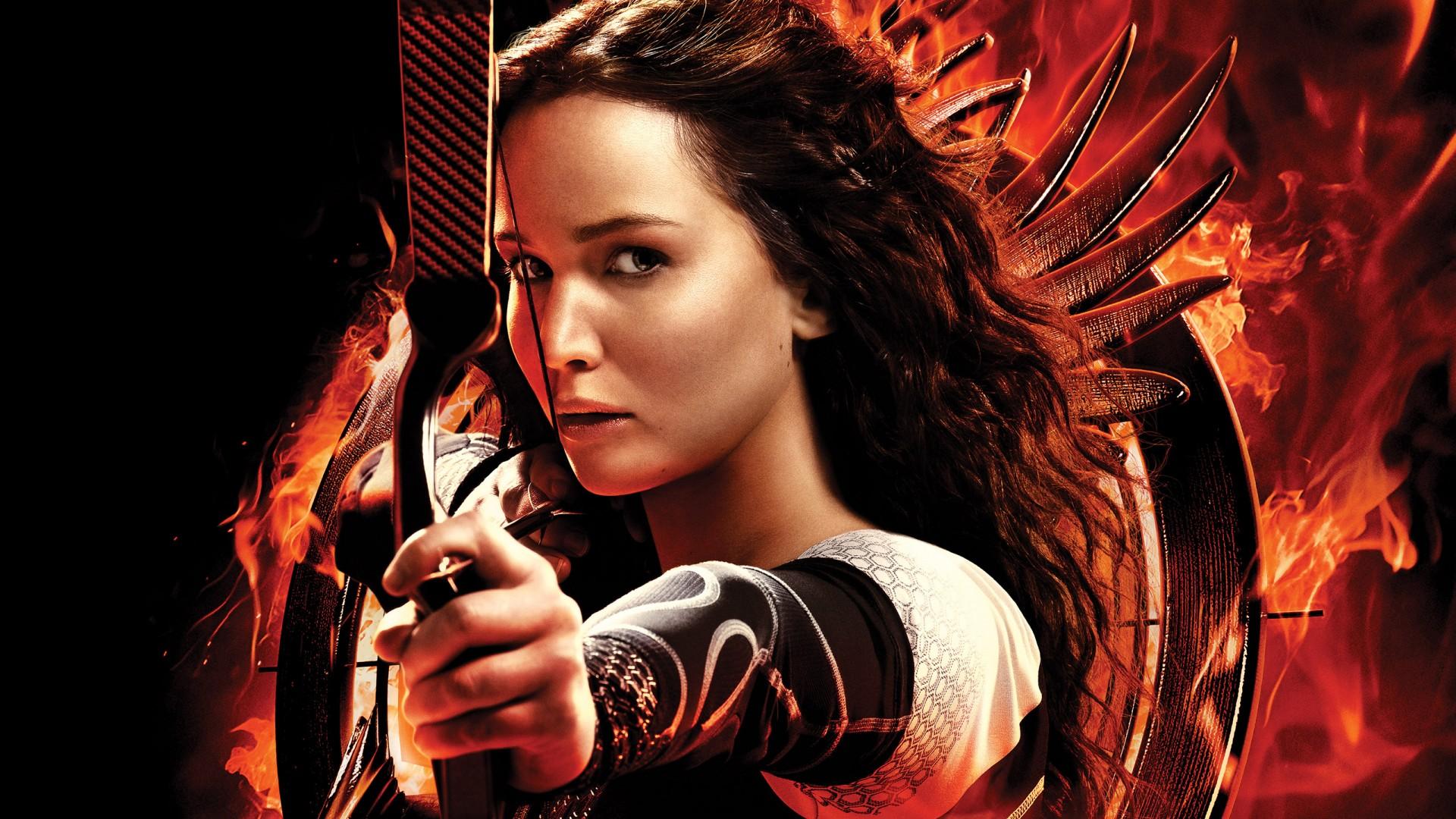 Katniss Jennifer Lawrence Wallpaper   Wallpaper Stream 1920x1080
