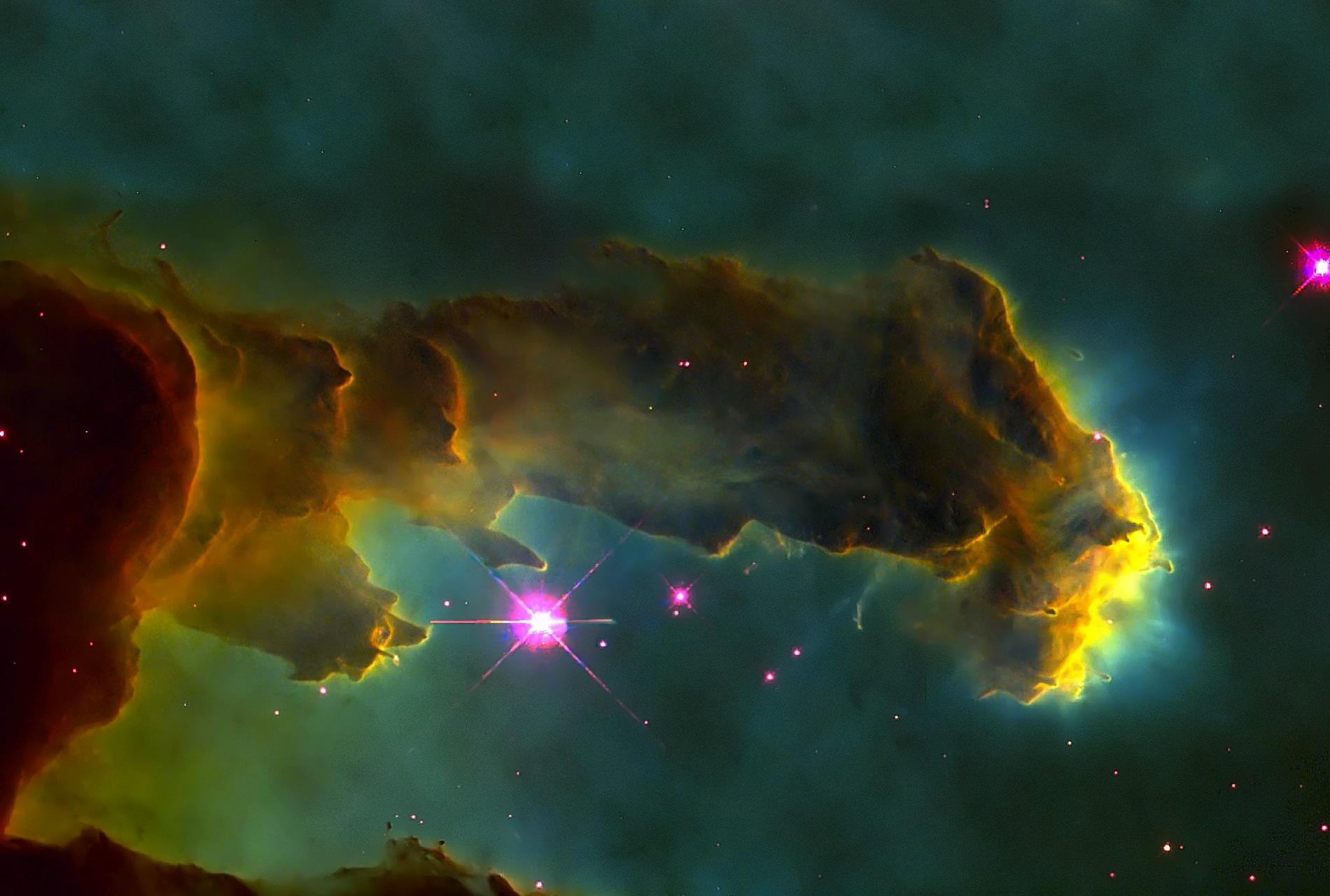 Pillars Of Creation Wallpaper Hd: Eagle Nebula Wallpaper HD