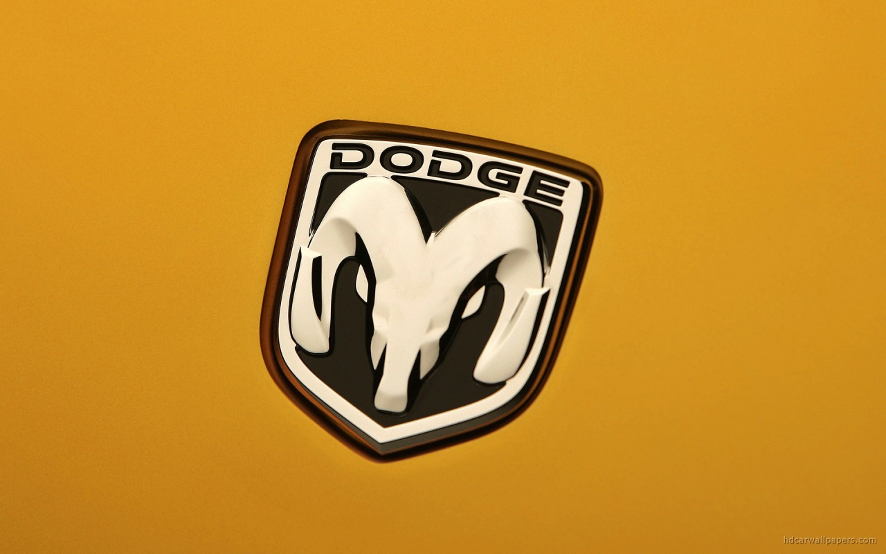 Dodge Car Logo Wallpaper in 1280x800 Resolution 1280x800