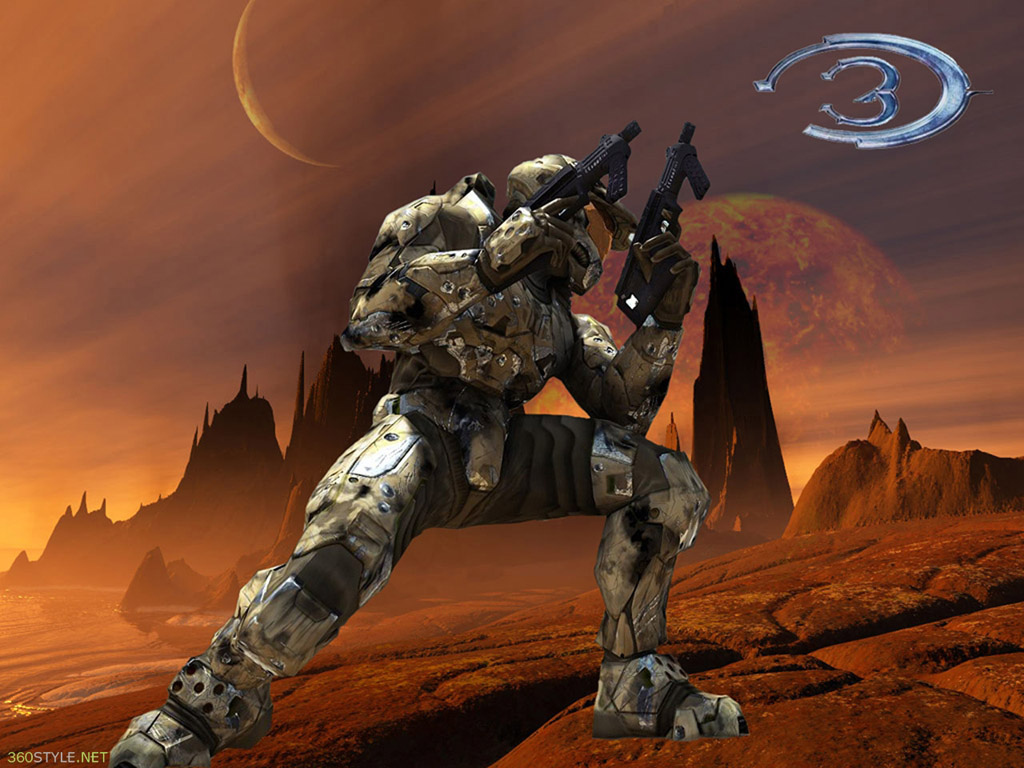 Xbox360 Halo 3 Game Wallpapers 1024x768 NO12 Desktop Wallpaper 1024x768