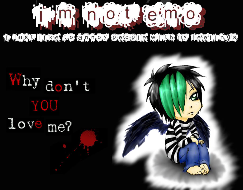Emo Backgrounds For Boys - WallpaperSafari