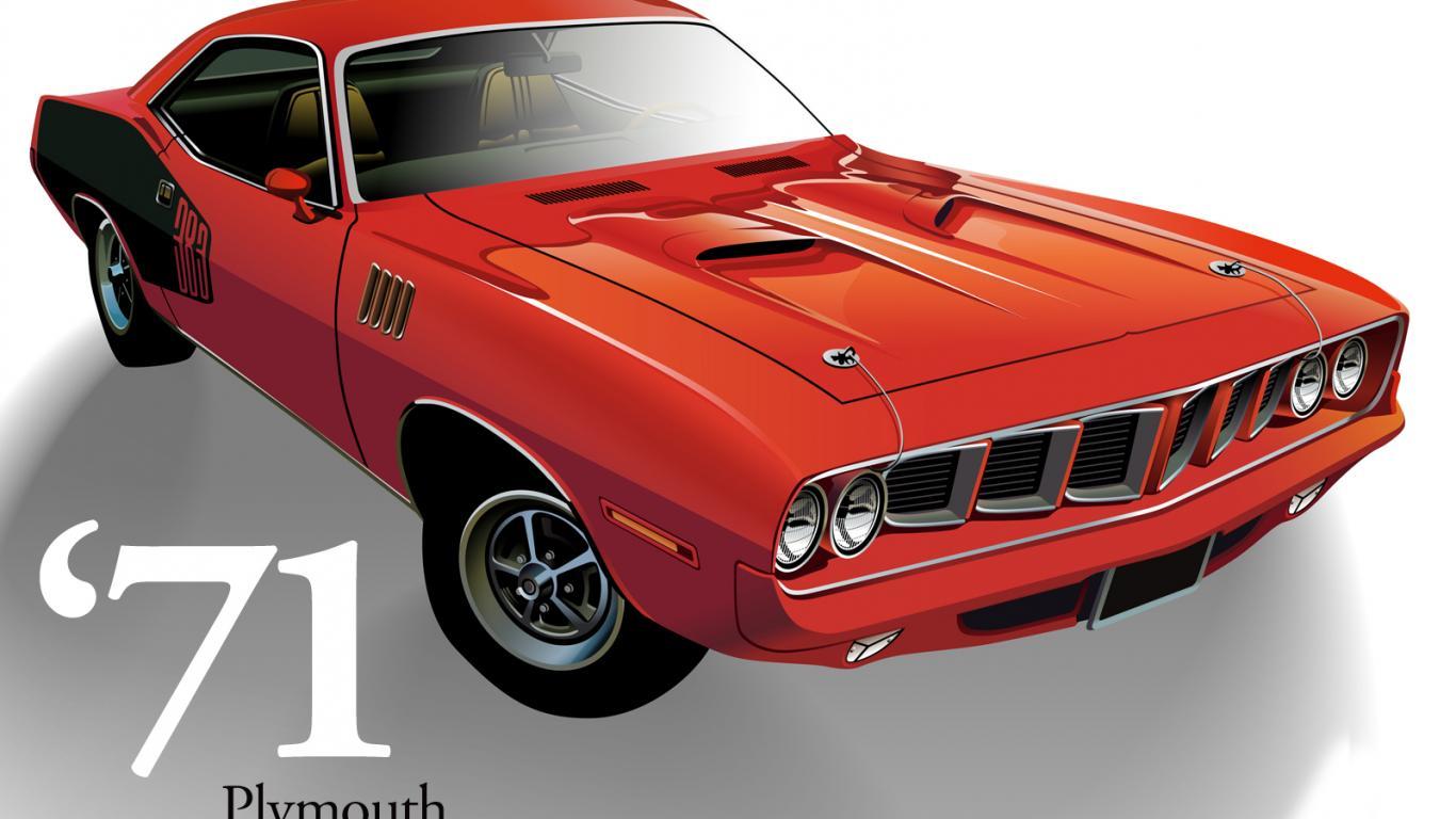 Muscle Car Wallpapers   Taringa 1366x768