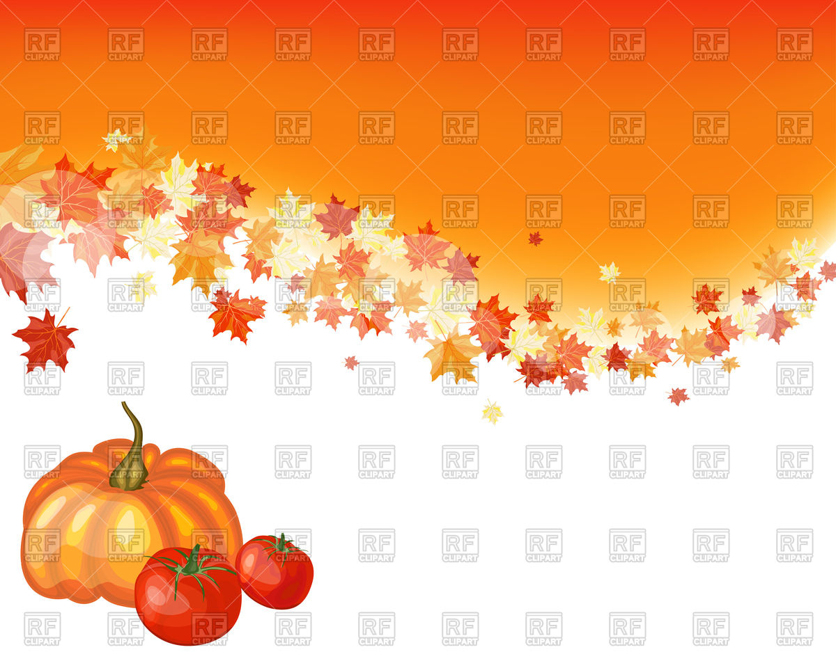 Autumn thanksgiving background Vector Image of Backgrounds 1200x960