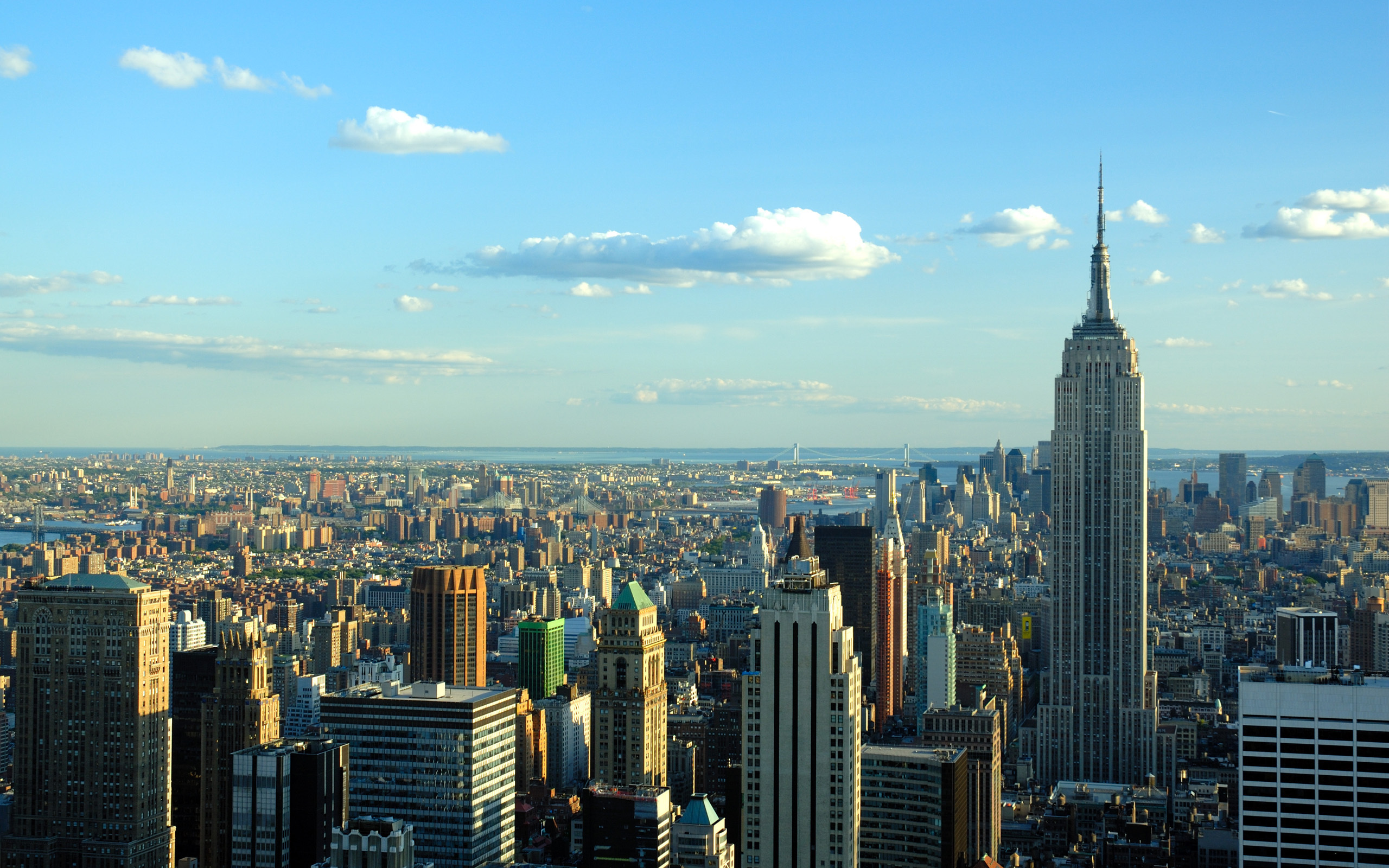 New York City Skyline Desktop Background in High Resolution at City 2560x1600