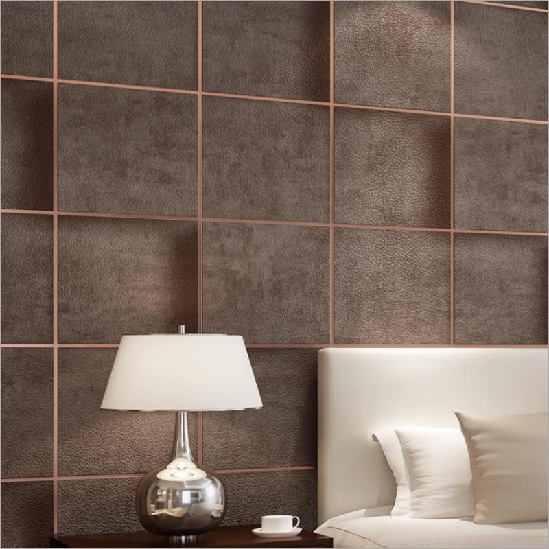 3D Wallpaper Roll Coffee Bedroom Living Room 3d Suede Nonwoven 800x800