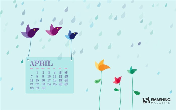 April 2014 calendar desktop themes wallpaper Wallpapers List   page 1 700x437