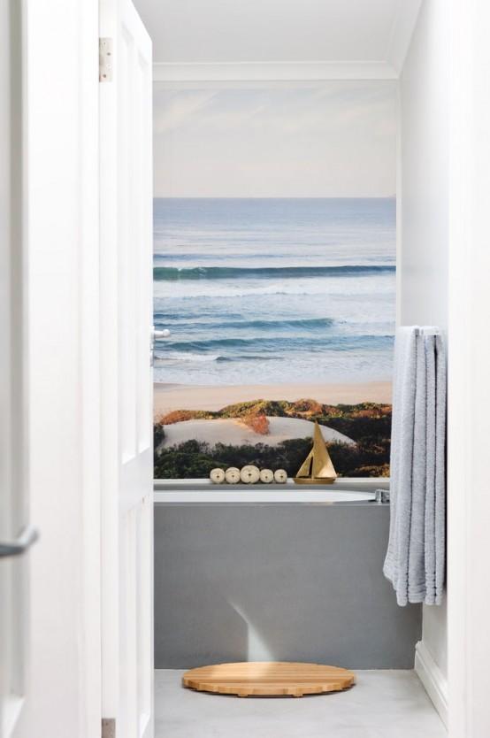 Bathroom Wonderful Sea Inspired Bathroom Decor Ideas Bathroom 554x834