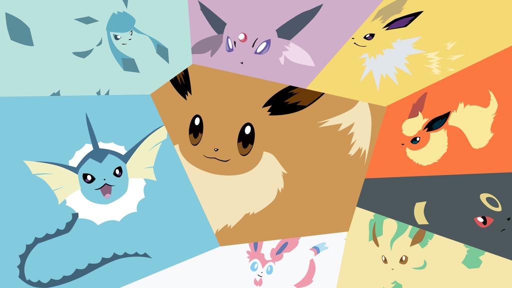 Go Back Pix For Eevee Evolutions Wallpaper 1024x576