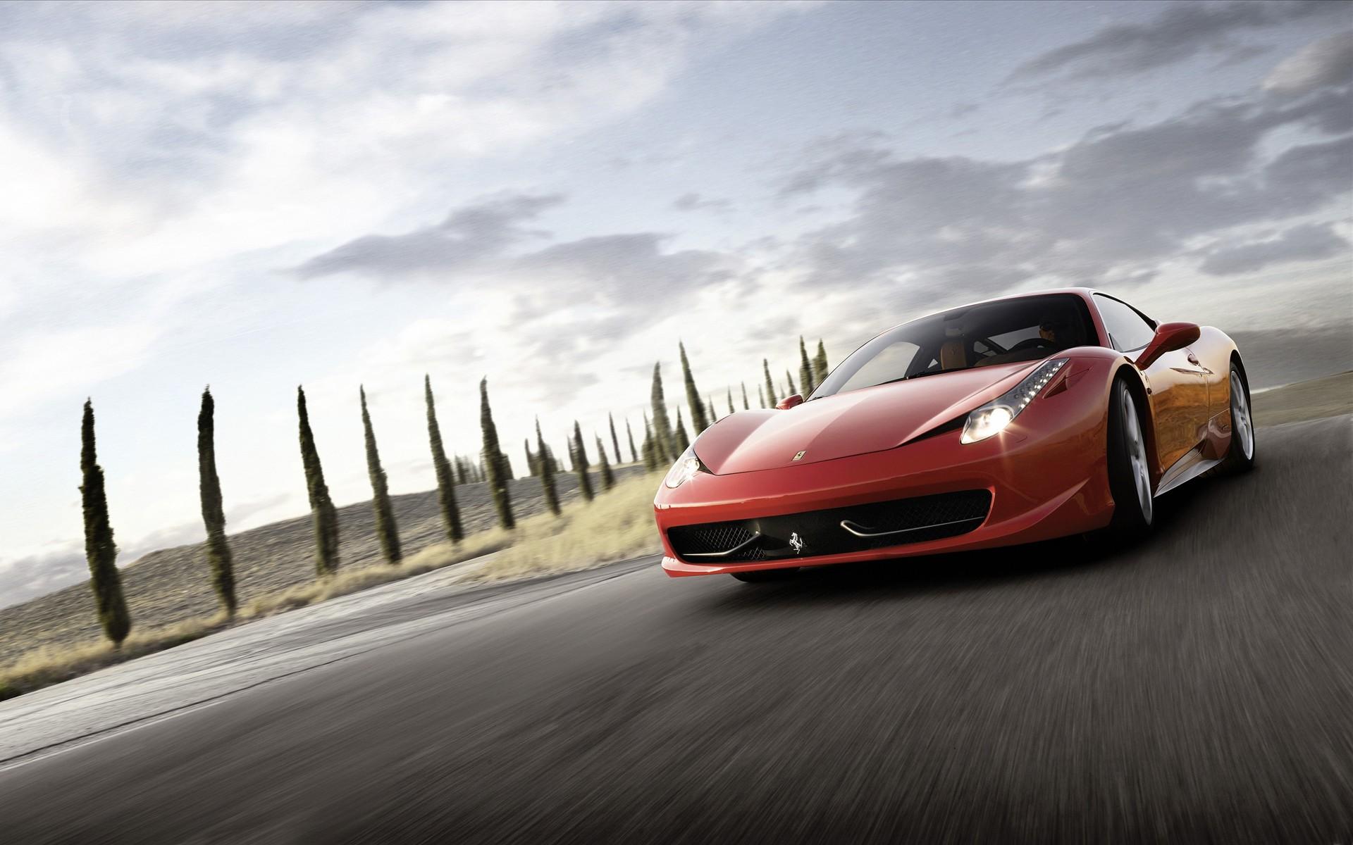 Ferrari 458 Italia Supercar 2 Wallpapers HD Wallpapers 1920x1200