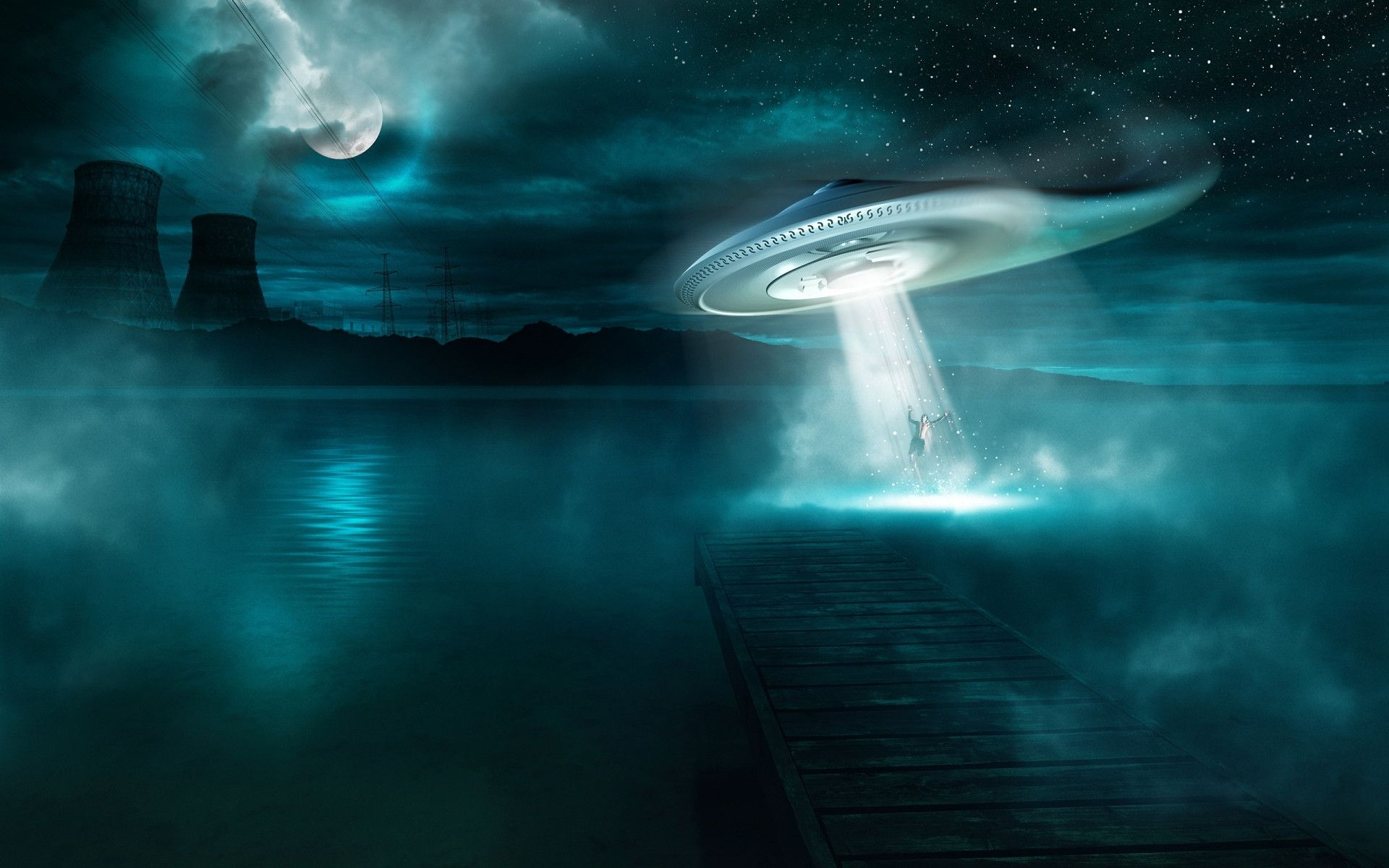 UFO Backgrounds 61 1920x1200