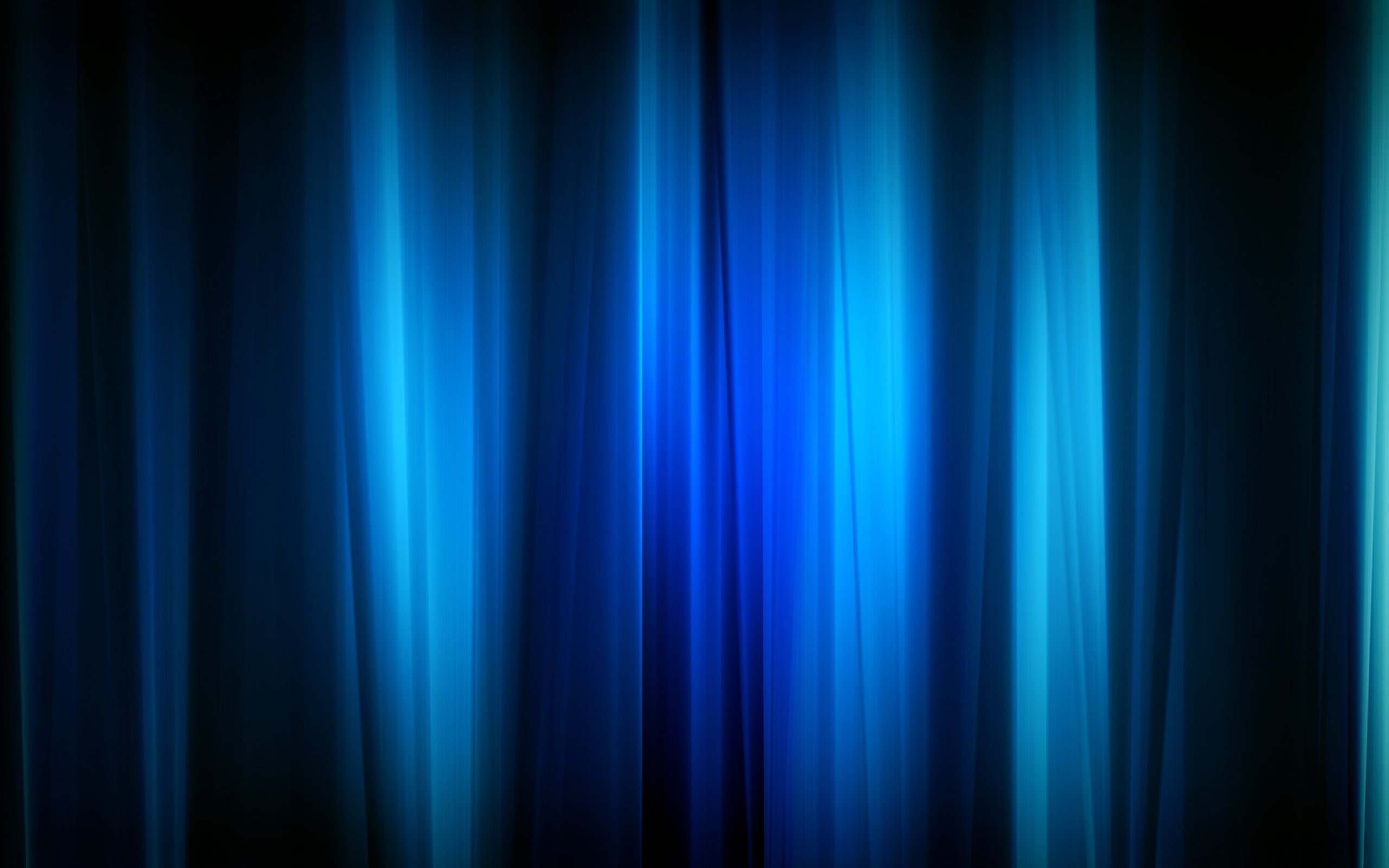 Title beautiful blue shades in black background Black Background and 2560x1600