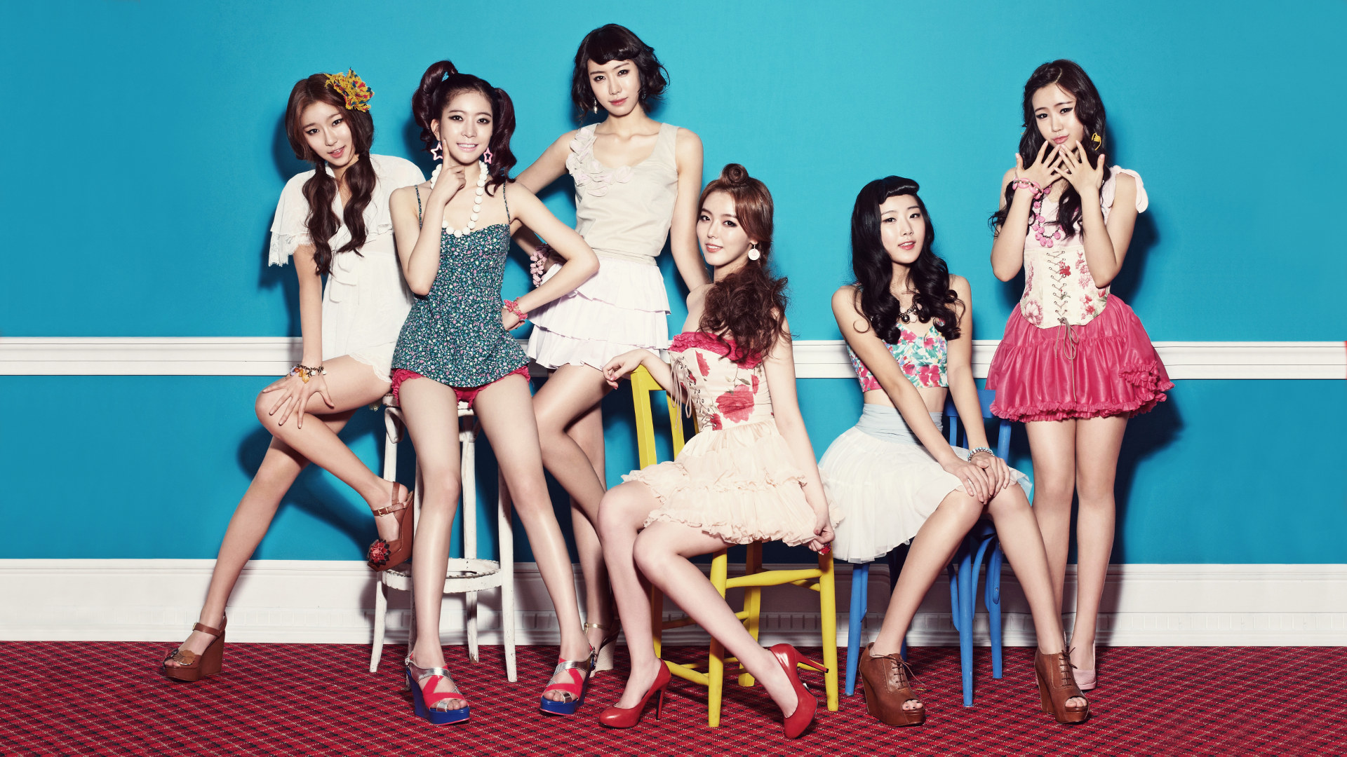 Dal Shabet Desktop Kpop Girl Band Korea wallpaper by hoantube2014 1920x1080