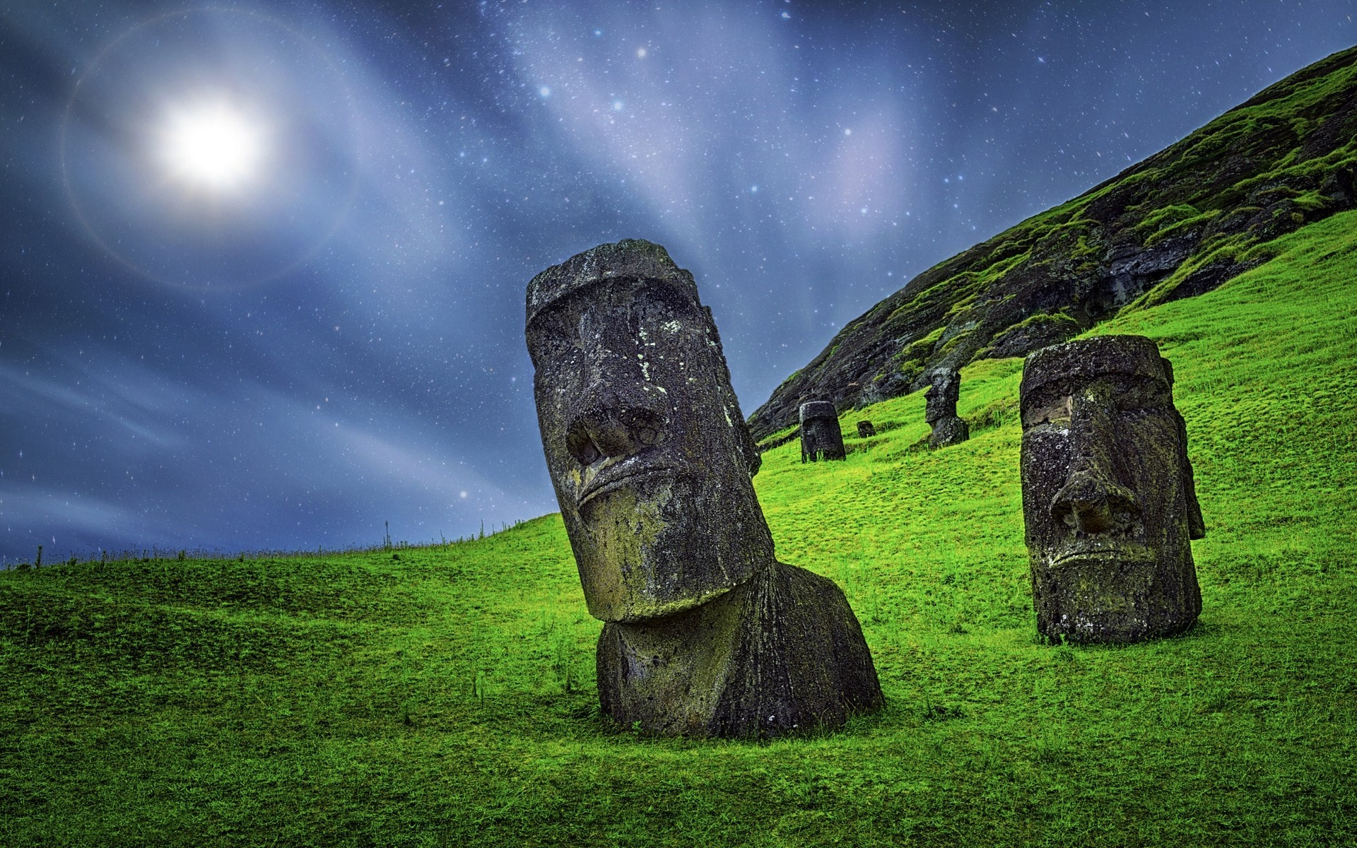 HD Easter Island Images 1920x1200
