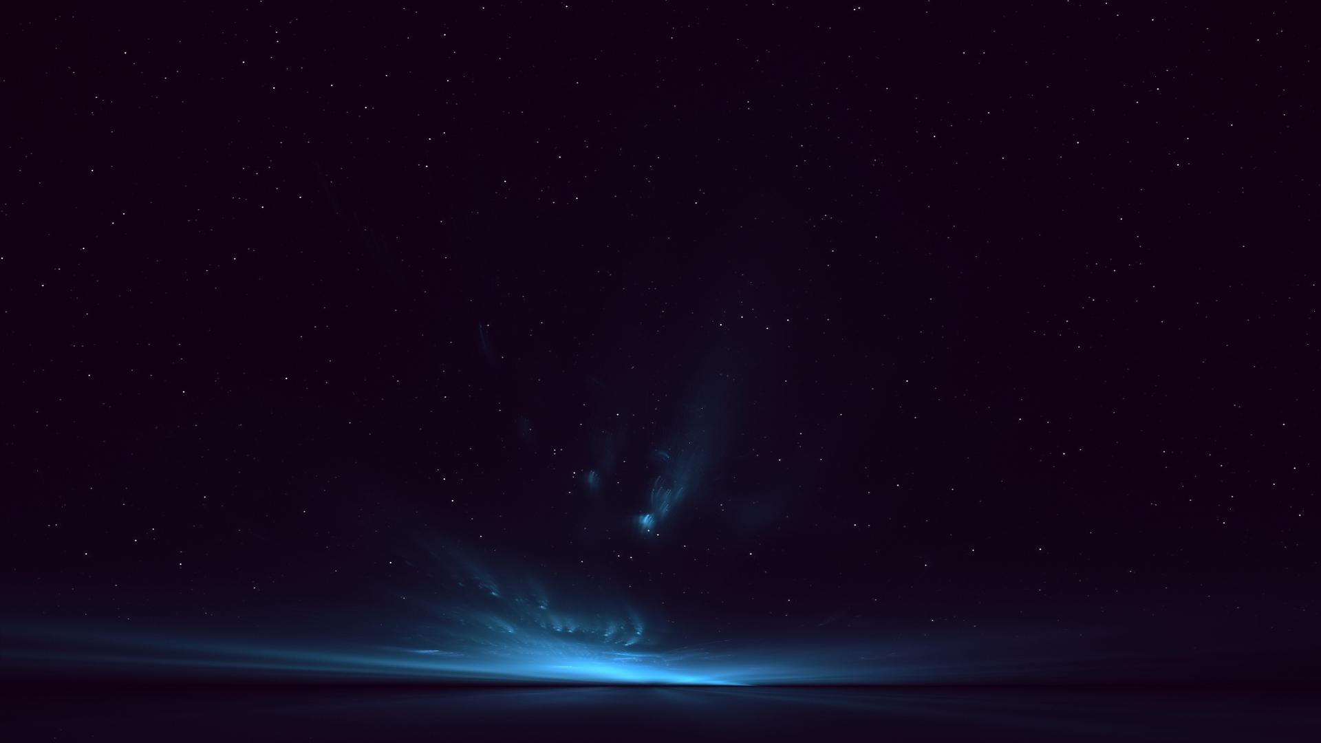 Download wallpaper 1920x1080 light sky stars background full hd 1920x1080