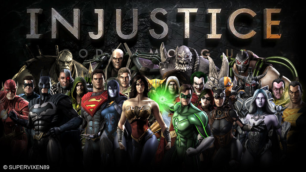 Injustice Gods Among Us fan wallpaper by Supervixen89 1024x576